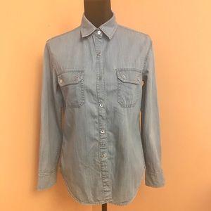 VINCE jean shirt size XS